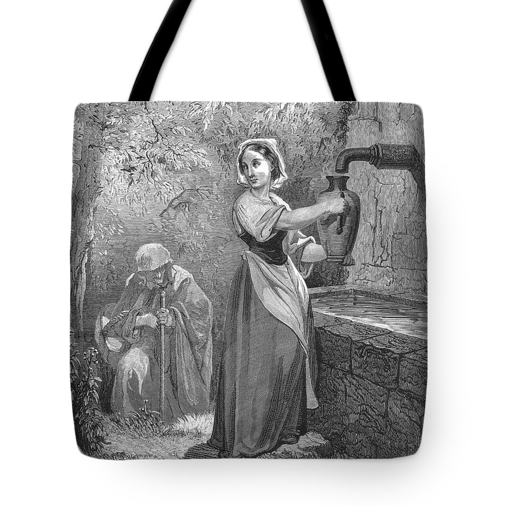 19th Century Tote Bag featuring the photograph Perrault: The Fairies by Granger