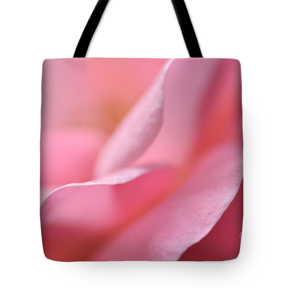 Photography Tote Bag featuring the photograph Petal Waves by Kaye Menner