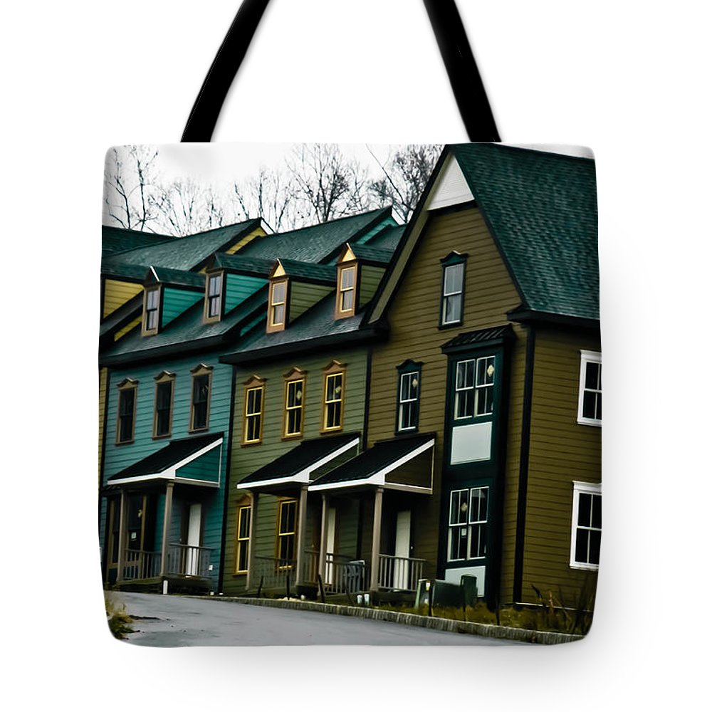 House Tote Bag featuring the photograph Peter's Village by Trish Tritz