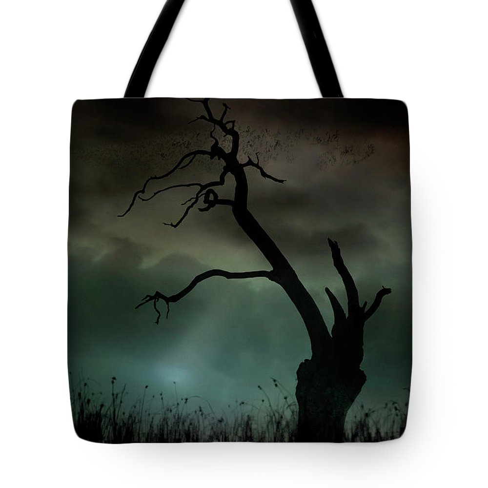 Trees Tote Bag featuring the photograph Petrified by Richard Piper