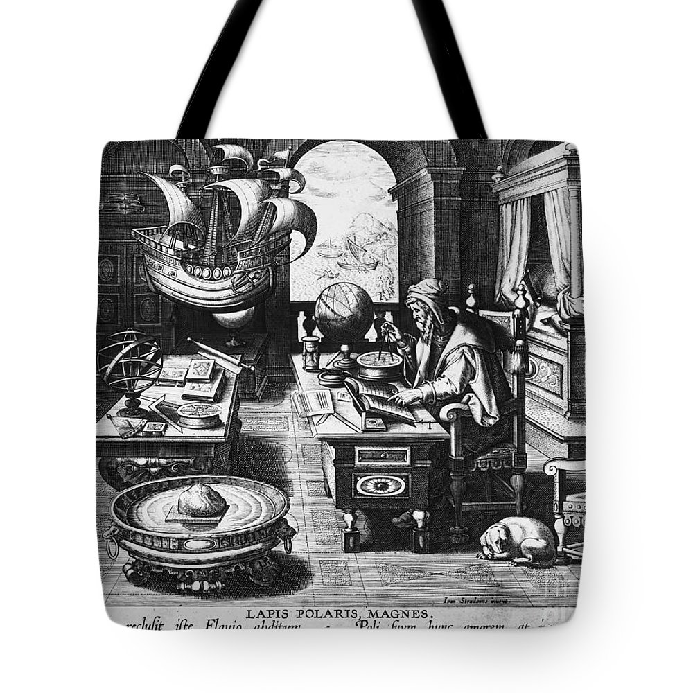 1580 Tote Bag featuring the photograph Philosopher, C1580 by Granger
