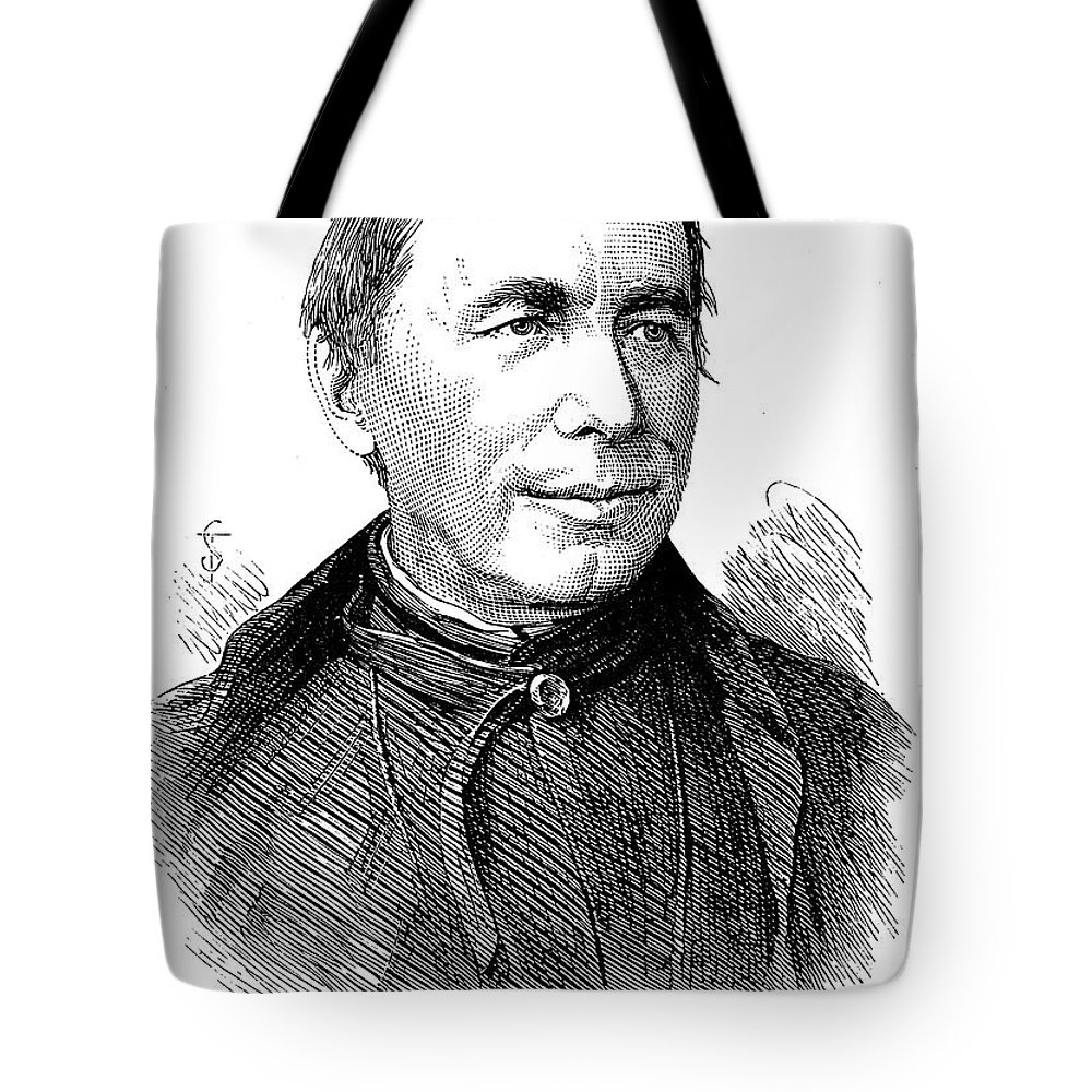 1878 Tote Bag featuring the photograph Pietro Angelo Secchi by Granger