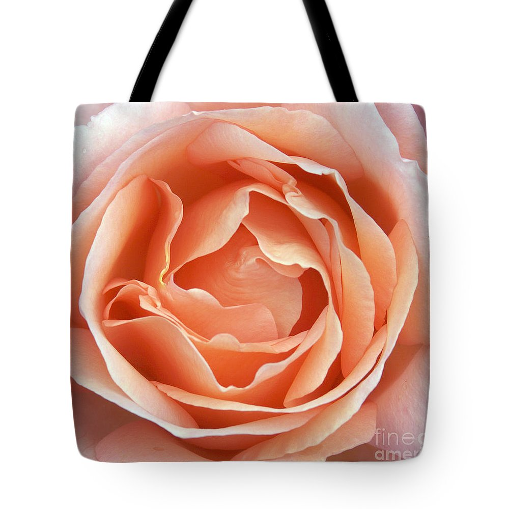 Rose Tote Bag featuring the photograph Pink Rose by Milena Boeva