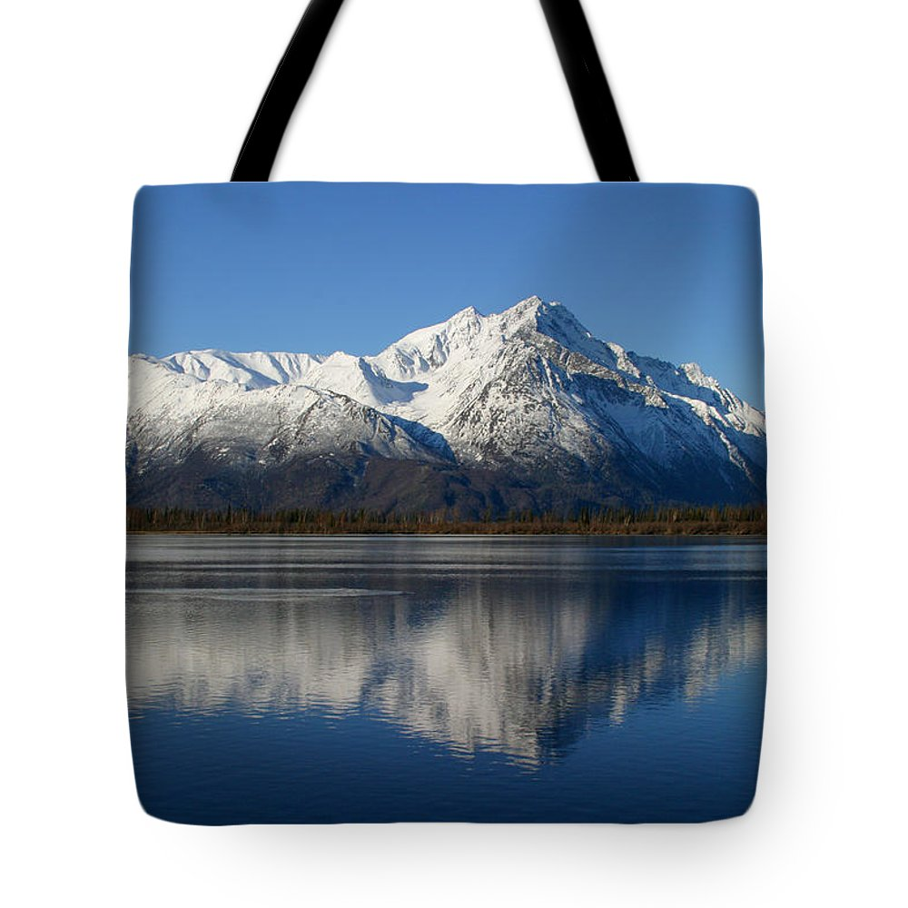 Doug Lloyd Tote Bag featuring the photograph Pioneer Reflected by Doug Lloyd