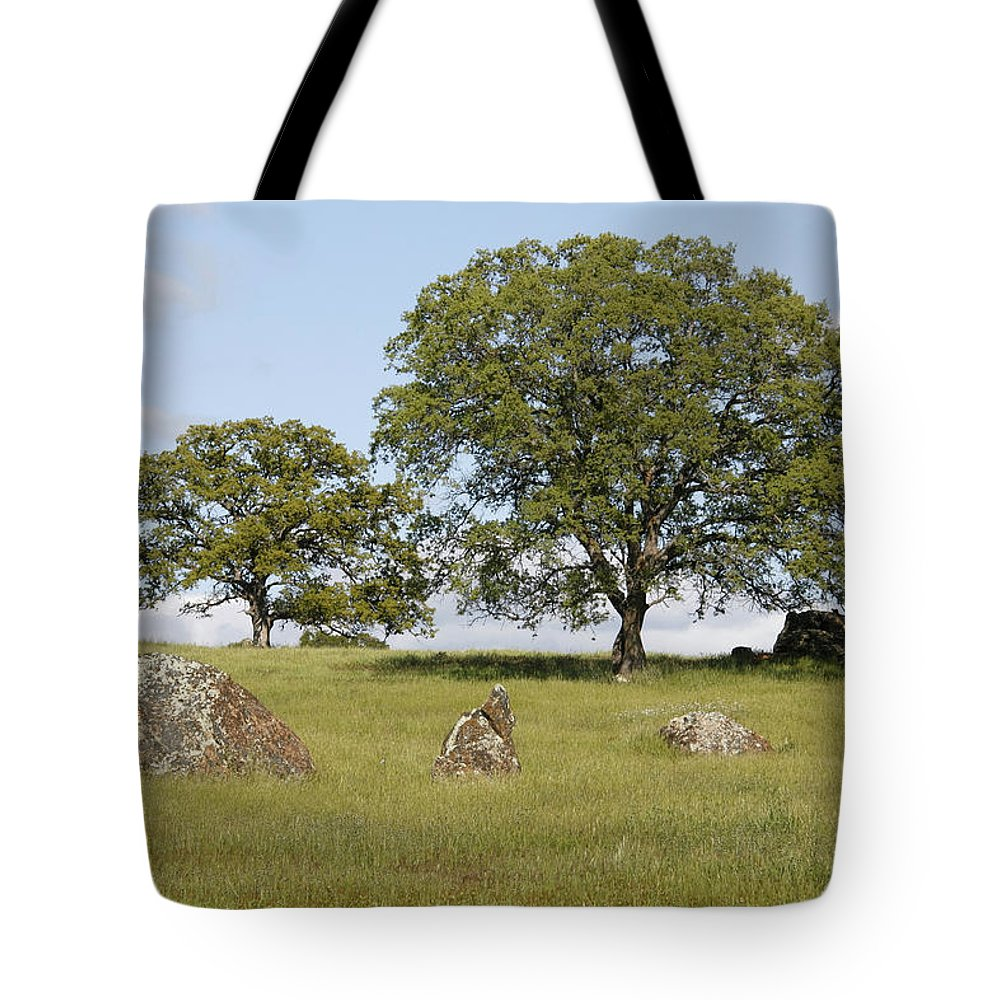 Pleasant Hillside Tote Bag featuring the photograph Pleasant Hillside by Wes and Dotty Weber