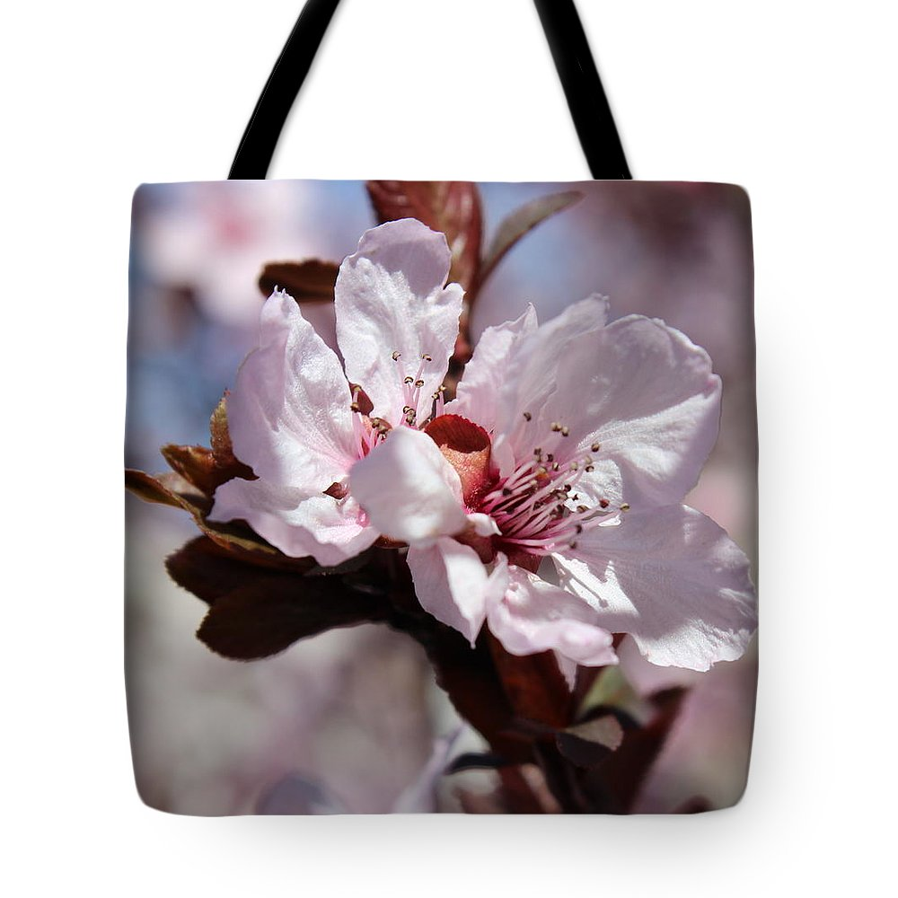 Floral Tote Bag featuring the photograph Plum Blossoms 10 by Kume Bryant