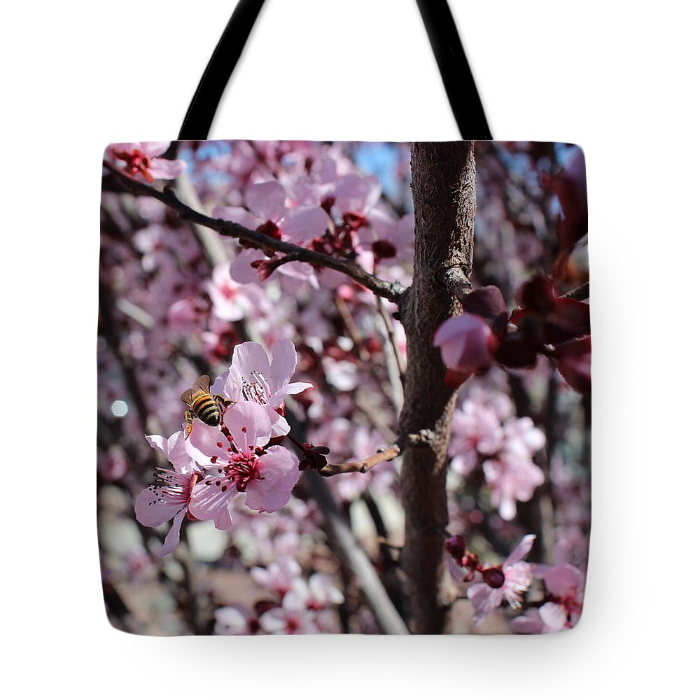 Floral Tote Bag featuring the photograph Plum Blossoms 6 by Kume Bryant