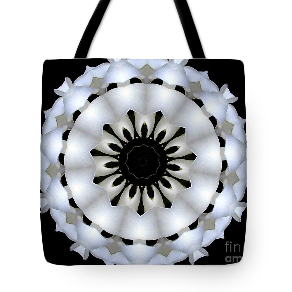 Digital Design Tote Bag featuring the photograph Plumeria 4 by Mark Gilman