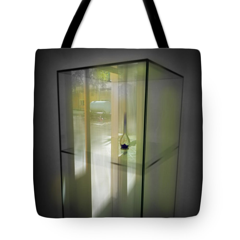 Display Tote Bag featuring the digital art Points Of View by Charles Stuart