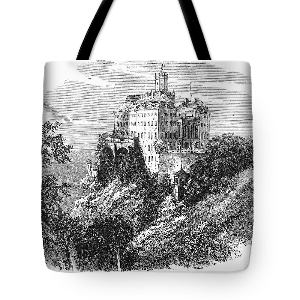 1875 Tote Bag featuring the photograph Poland: Castle by Granger