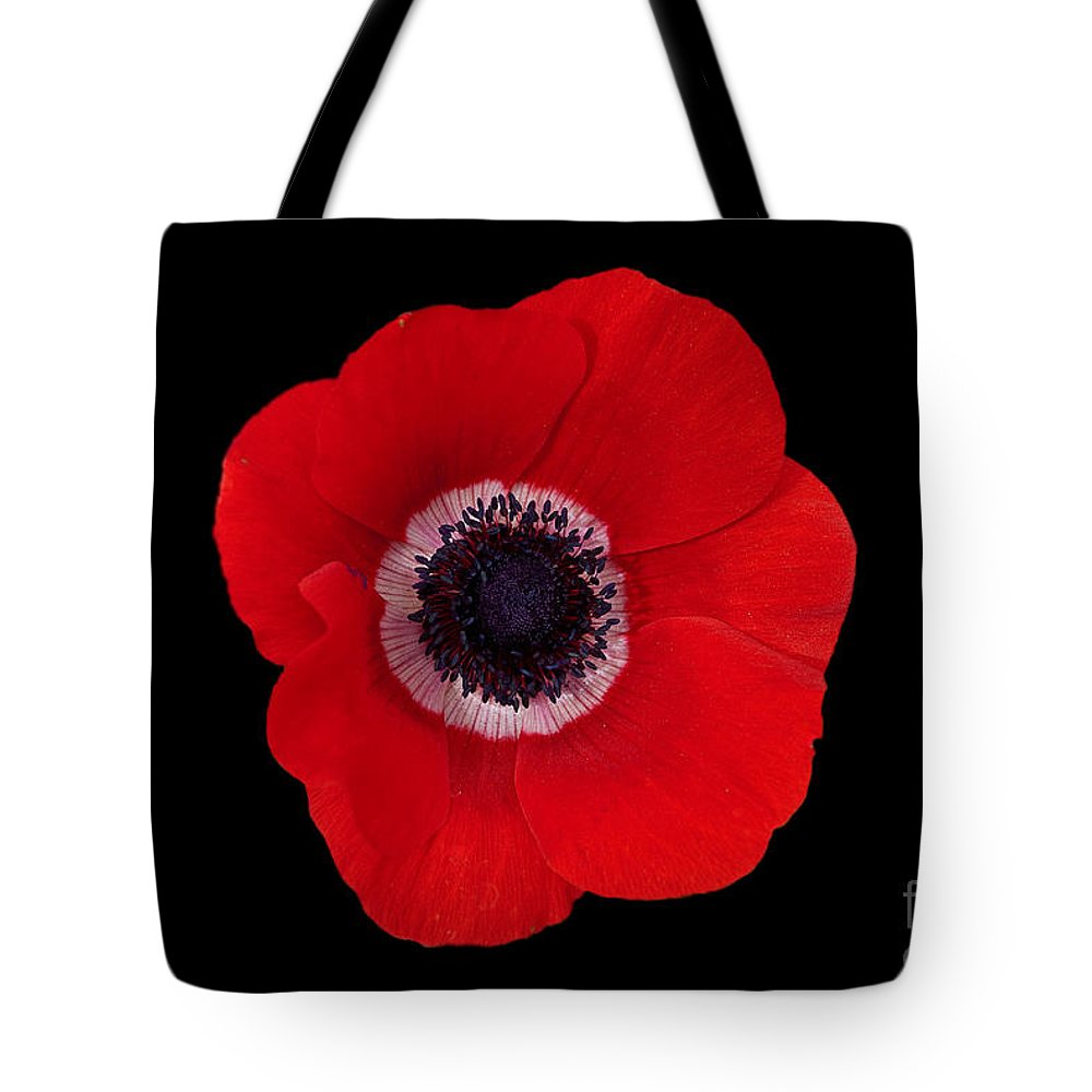 Poppy Tote Bag featuring the photograph Poppy by Philip Golan