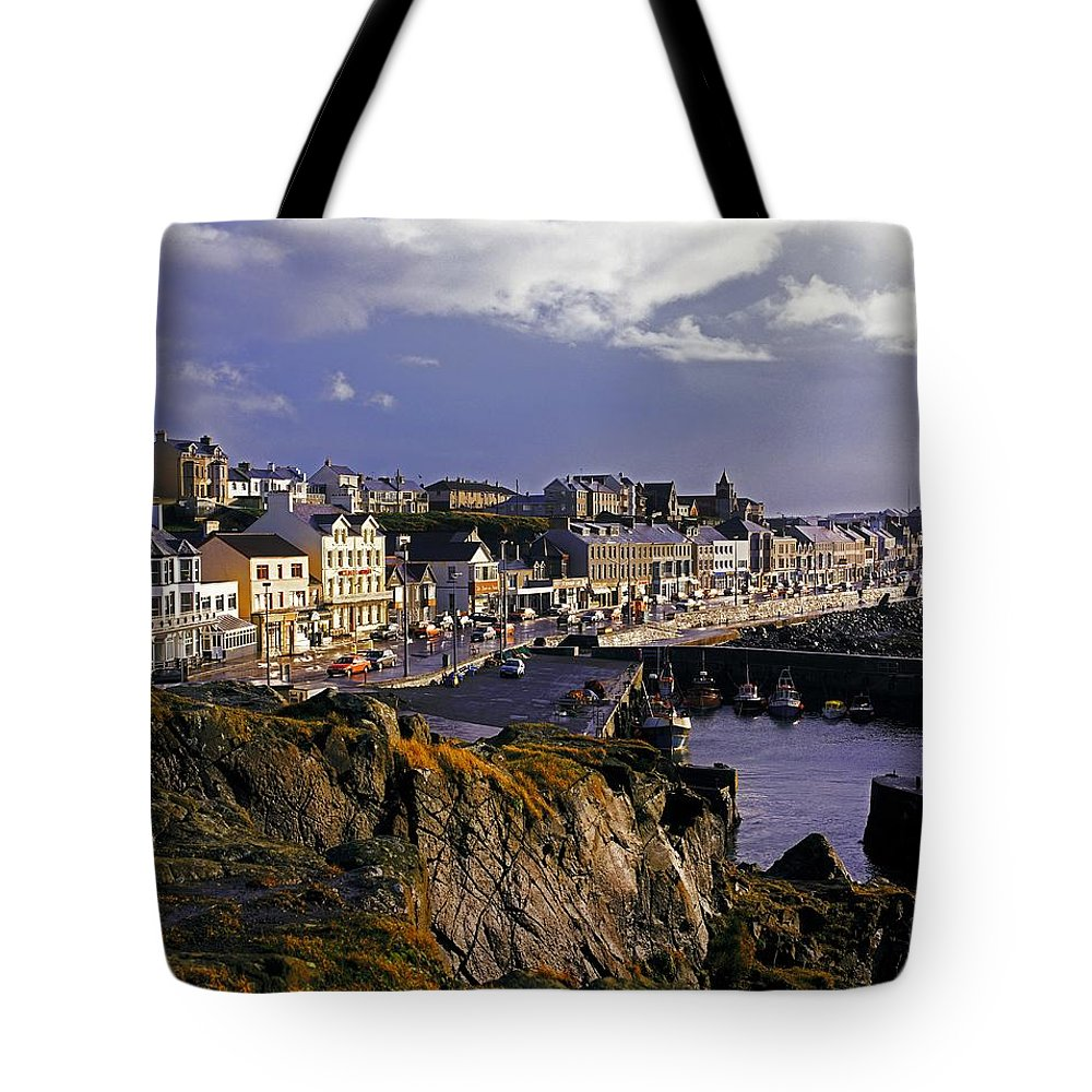 Boat Tote Bag featuring the photograph Portstewart, Co Derry, Ireland Seaside by The Irish Image Collection