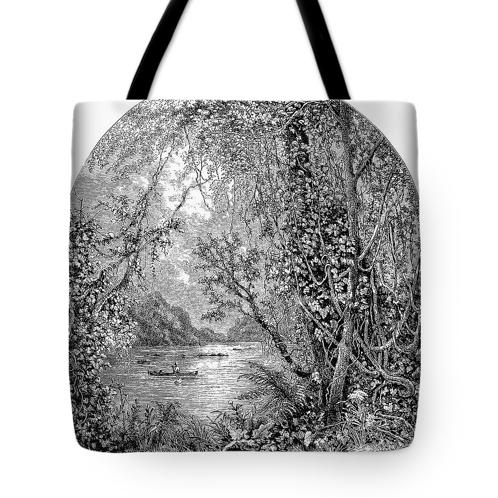 19th Century Tote Bag featuring the photograph Potomac River by Granger