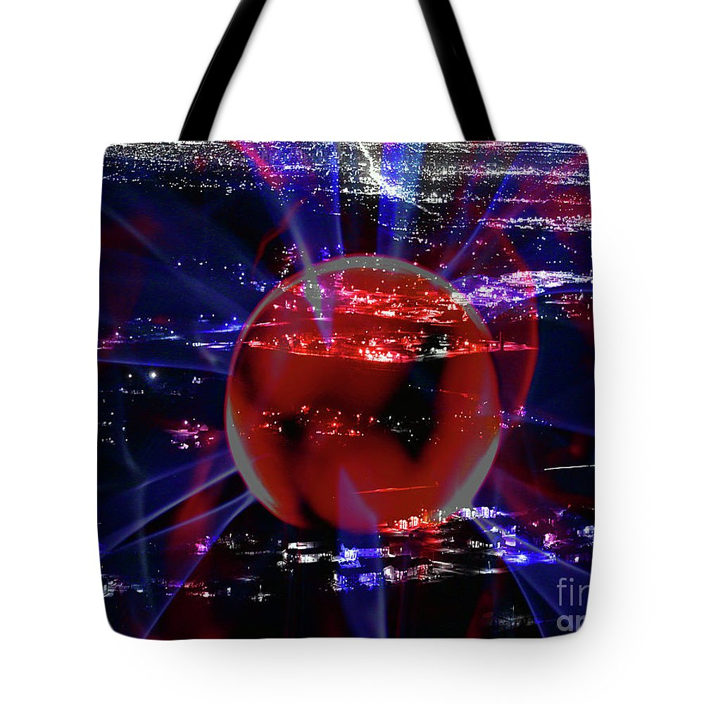 Clay Tote Bag featuring the photograph Power by Clayton Bruster