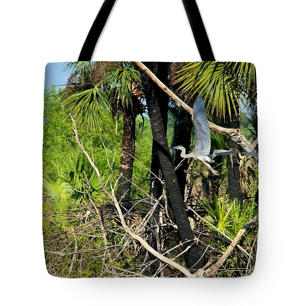 Bird Tote Bag featuring the photograph Prehistoric by Joseph Yarbrough