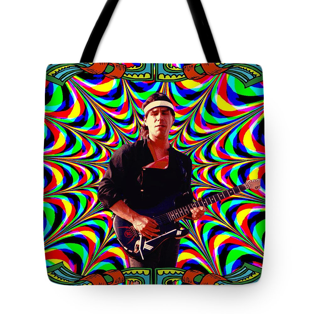 Spirit Tote Bag featuring the photograph Psychedelicalifornia by Ben Upham