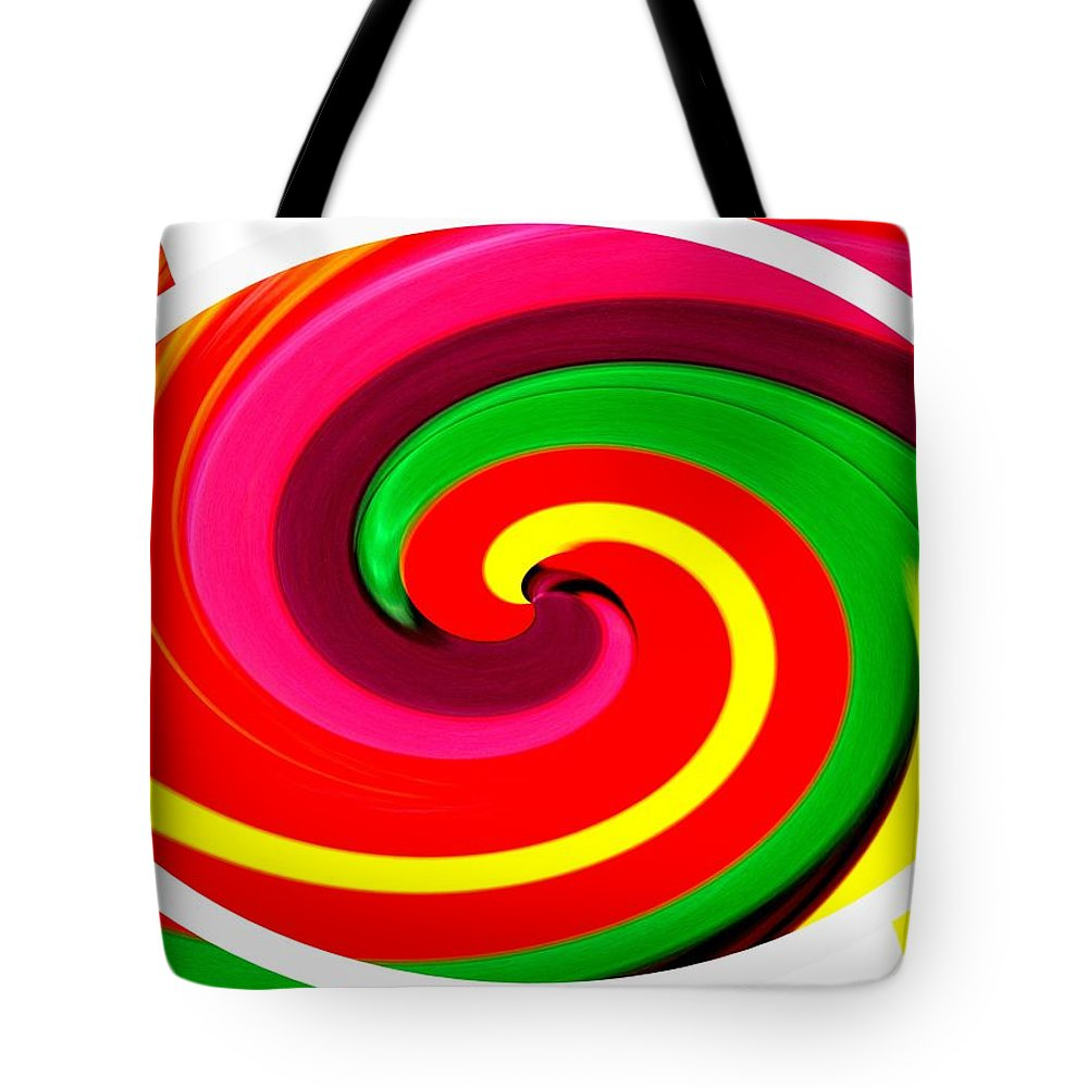 Psychodelic Tote Bag featuring the photograph Psychodelia by Renate Nadi Wesley