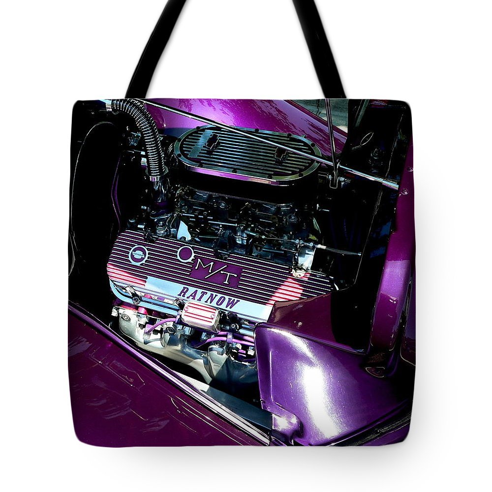 Ratnow Tote Bag featuring the photograph Purple Ratnow by Jeff Lowe
