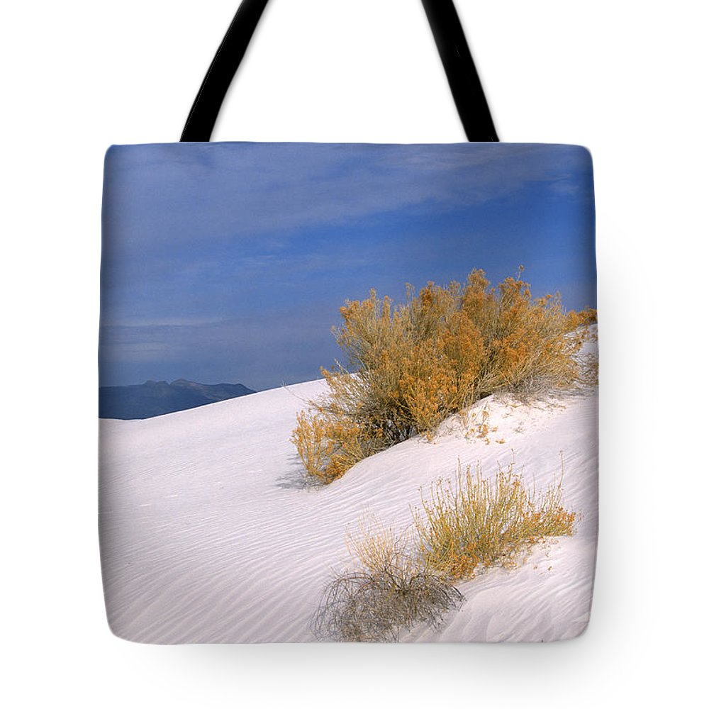 Sandra Bronstein Tote Bag featuring the photograph Windswept - White Sands National Monument by Sandra Bronstein