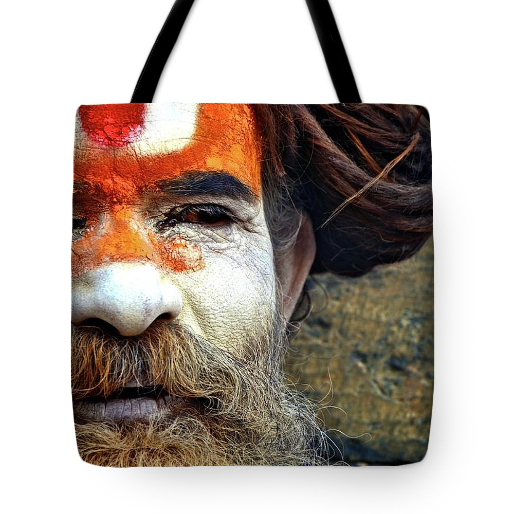 Portraits Tote Bag featuring the photograph Rade Baba by Valerie Rosen