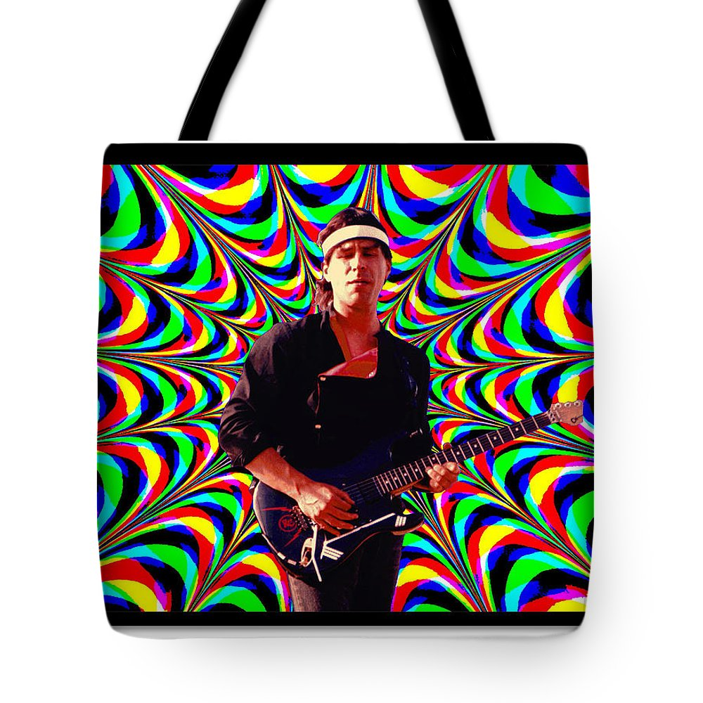Spirit Tote Bag featuring the photograph Randy Wolfe by Ben Upham