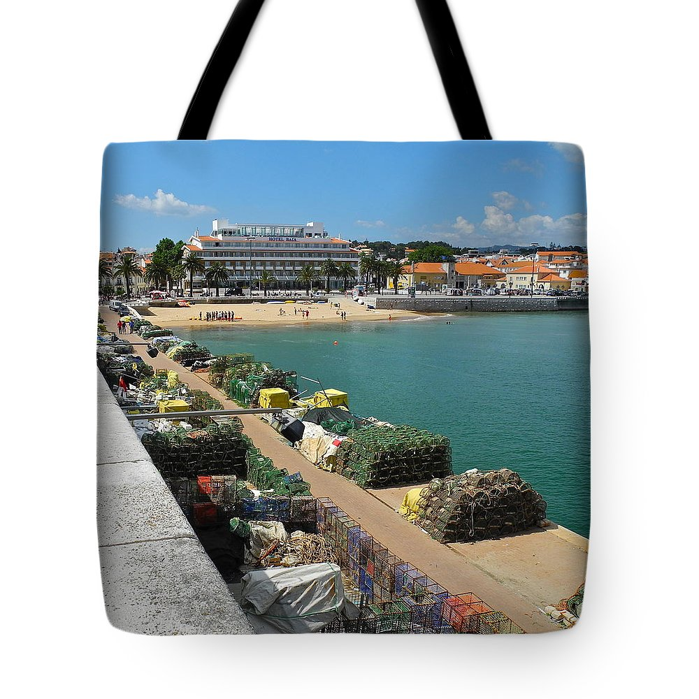 Cascais Tote Bag featuring the photograph Ready for Fishing Tomorrow by Kirsten Giving
