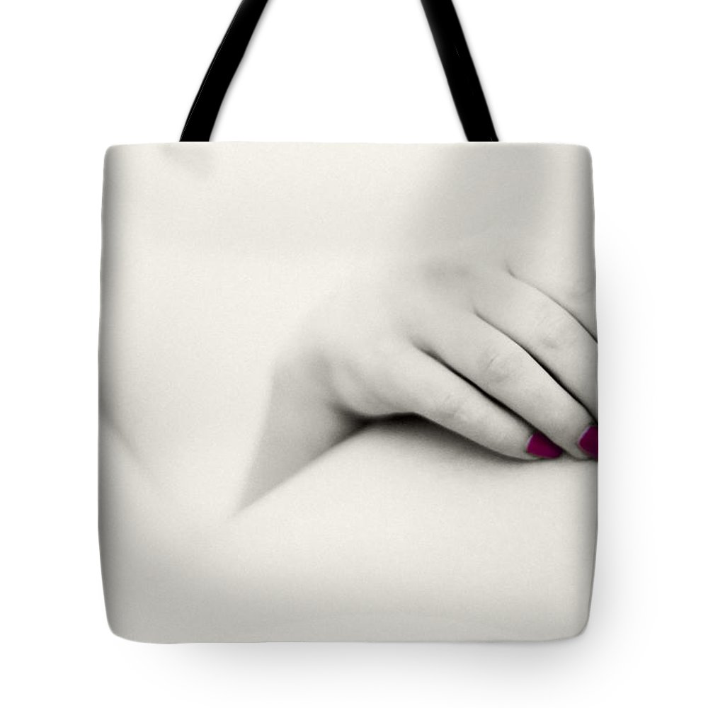 Art Tote Bag featuring the photograph Red Is My Colour by Stelios Kleanthous