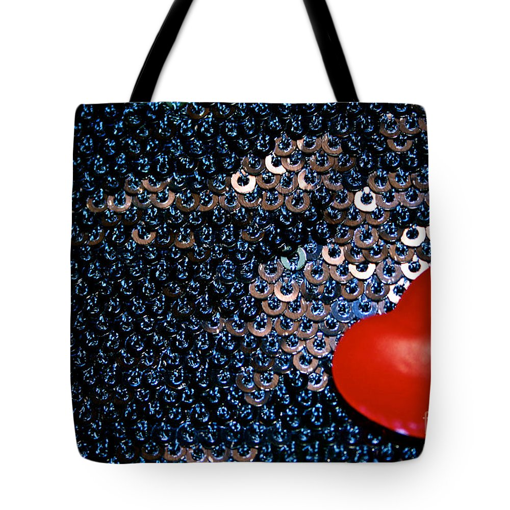 Candy Tote Bag featuring the photograph Red by Susan Herber