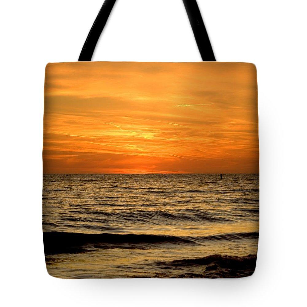Florida Tote Bag featuring the photograph Redington Beach Sunset by Ellen Heaverlo