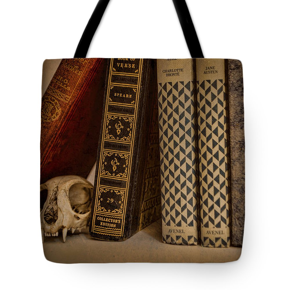 Bone Tote Bag featuring the photograph Reference by Heather Applegate