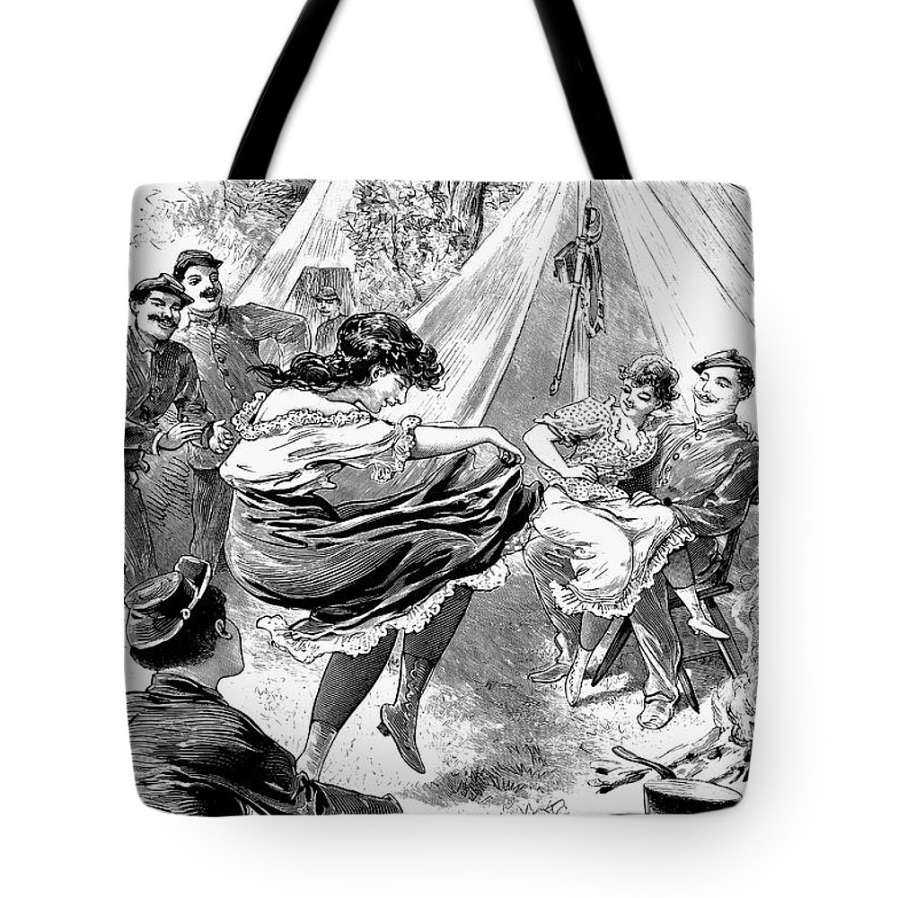 1895 Tote Bag featuring the photograph Reform School Girls, 1895 by Granger