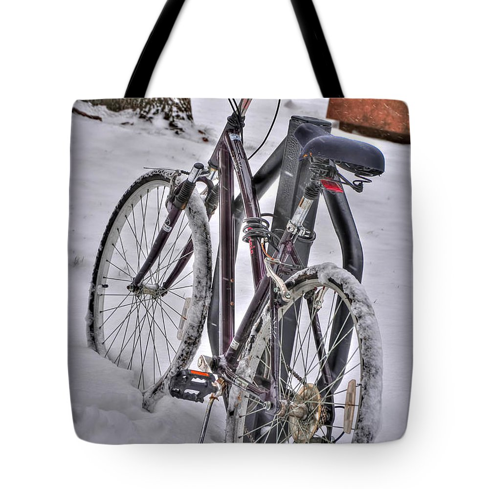 Tote Bag featuring the photograph Regardless by Michael Frank Jr