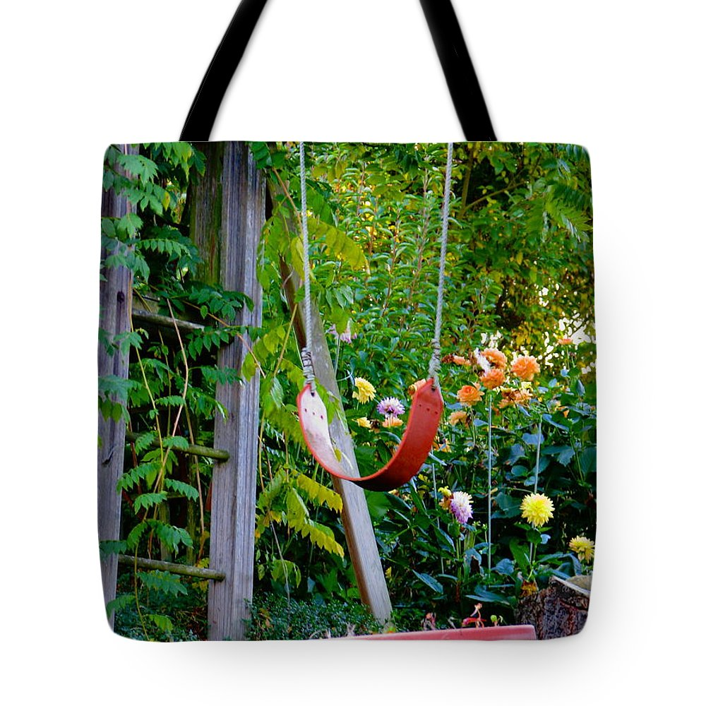 Swing Tote Bag featuring the photograph Remember... by Rory Sagner