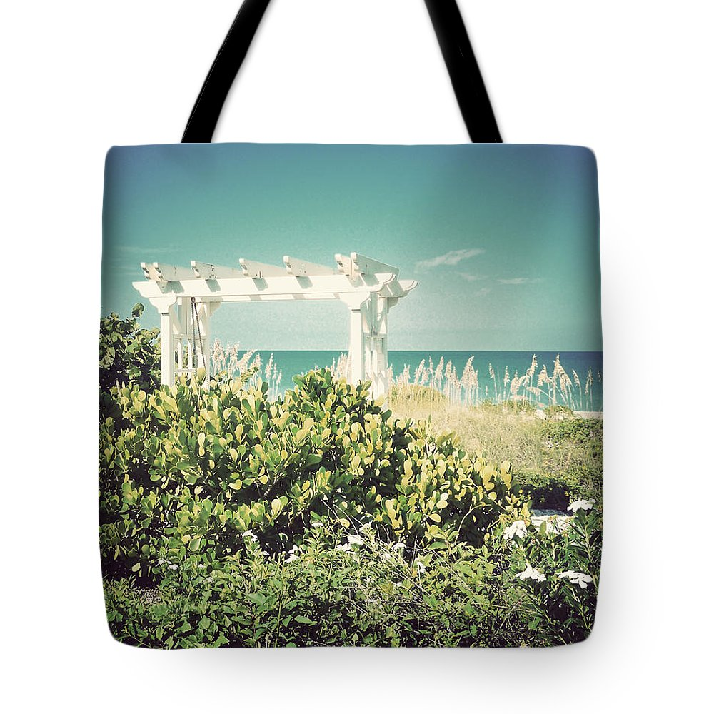 Florida Tote Bag featuring the photograph Restful-vintage by Chris Andruskiewicz