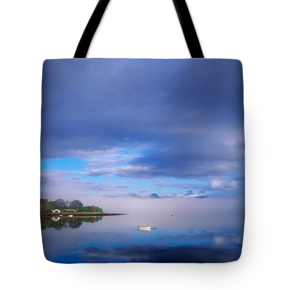 Beauty In Nature Tote Bag featuring the photograph Ring Of Kerry, Dinish Island Kenmare Bay by The Irish Image Collection