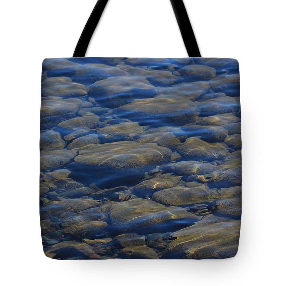 Tote Bag featuring the photograph Riverbed by Joi Electa