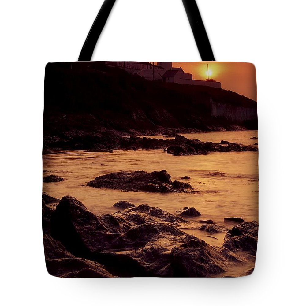 Bluff Tote Bag featuring the photograph Roches Point, Whitegate, Cork Harbour by Richard Cummins
