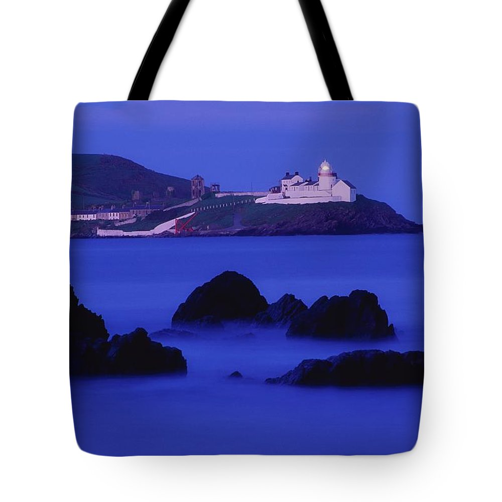Architecture Tote Bag featuring the photograph Roches Point, Whitegate, County Cork by Richard Cummins