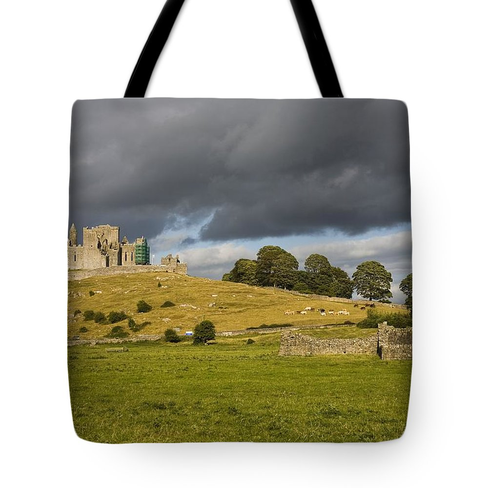 Architectural Tote Bag featuring the photograph Rock Of Cashel, Cashel, County by Richard Cummins