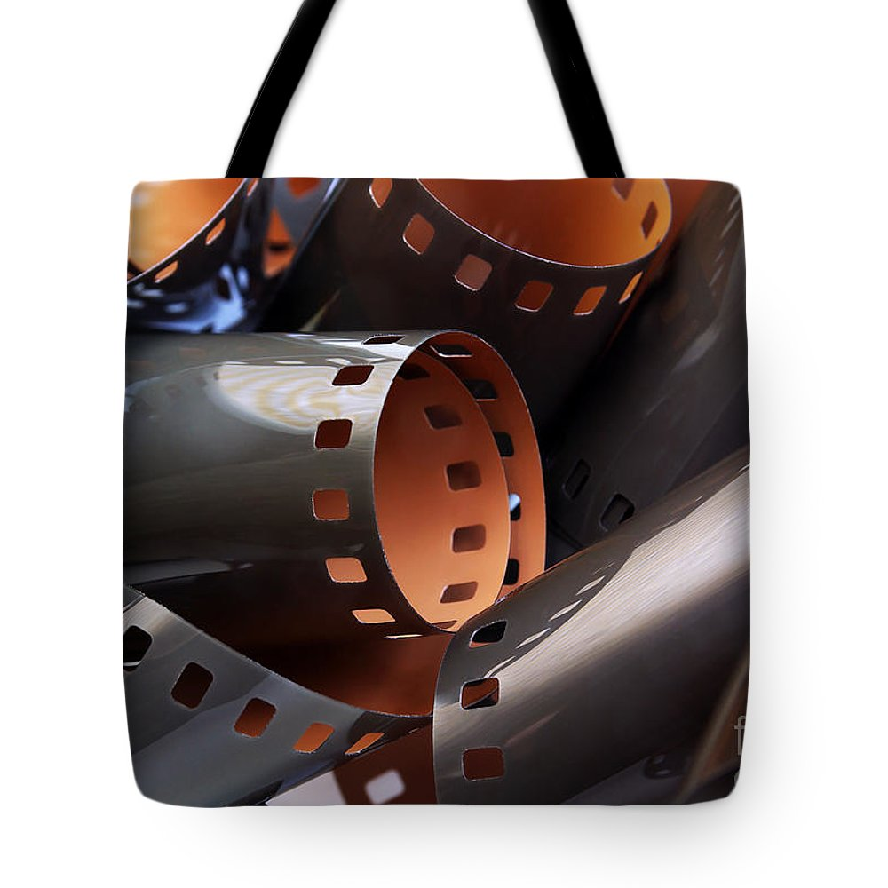 35mm Tote Bag featuring the photograph Roll Of Film by Carlos Caetano