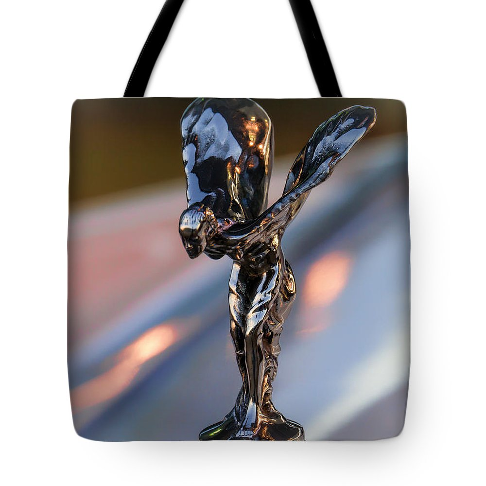 Rolls-royce Tote Bag featuring the digital art Rolls-royce Ecstasy by Douglas Pittman
