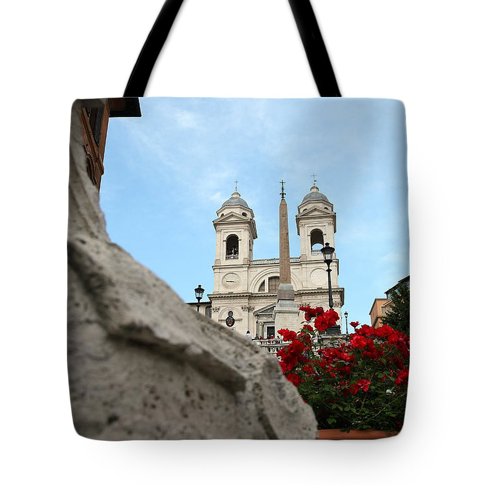 Rome Tote Bag featuring the photograph Rome by Milena Boeva