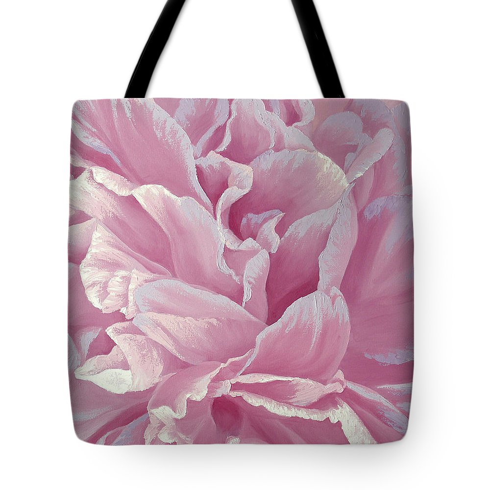 Rose Tote Bag featuring the painting Rose Dream by Olena Lopatina