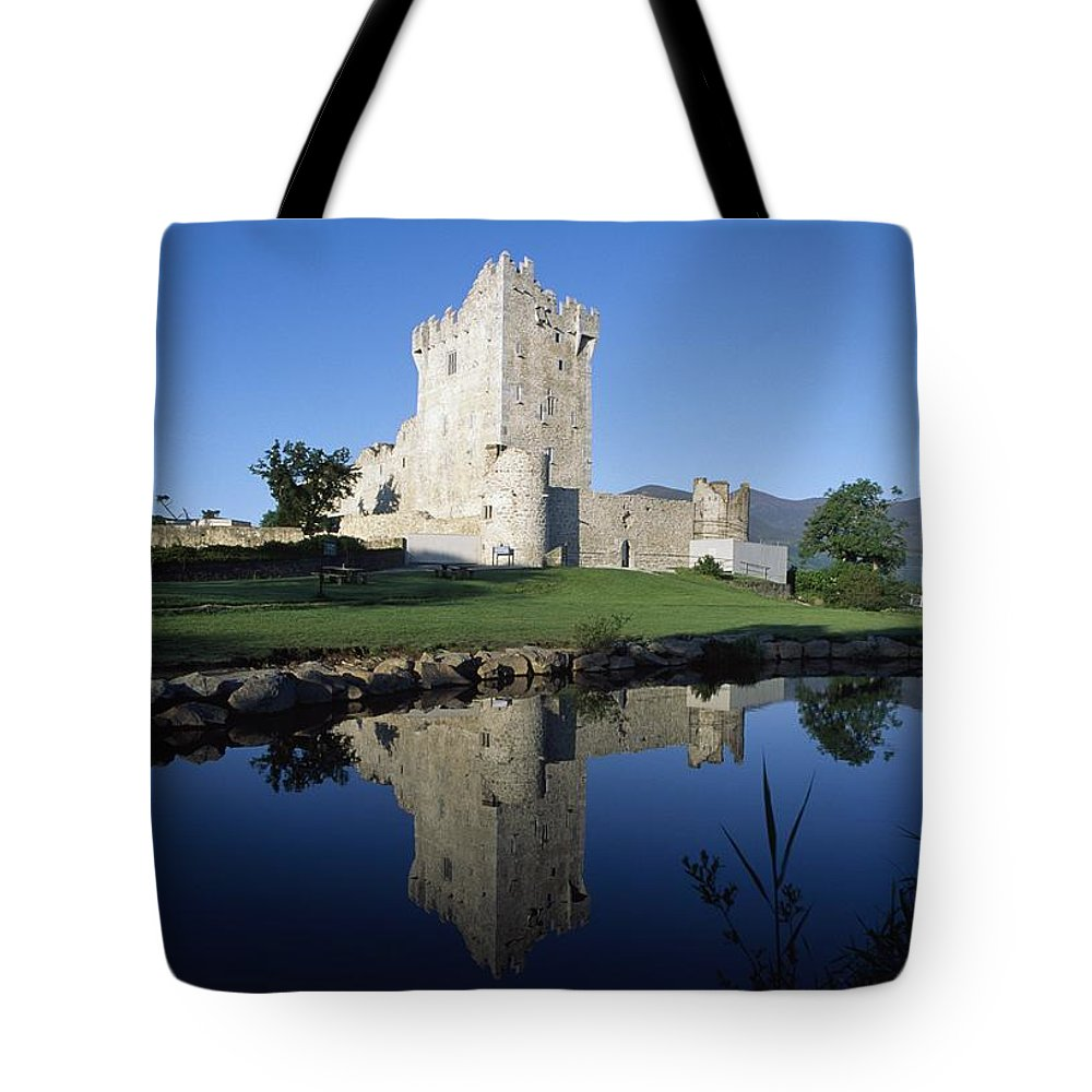 Day Tote Bag featuring the photograph Ross Castle, Killarney, Co Kerry by The Irish Image Collection