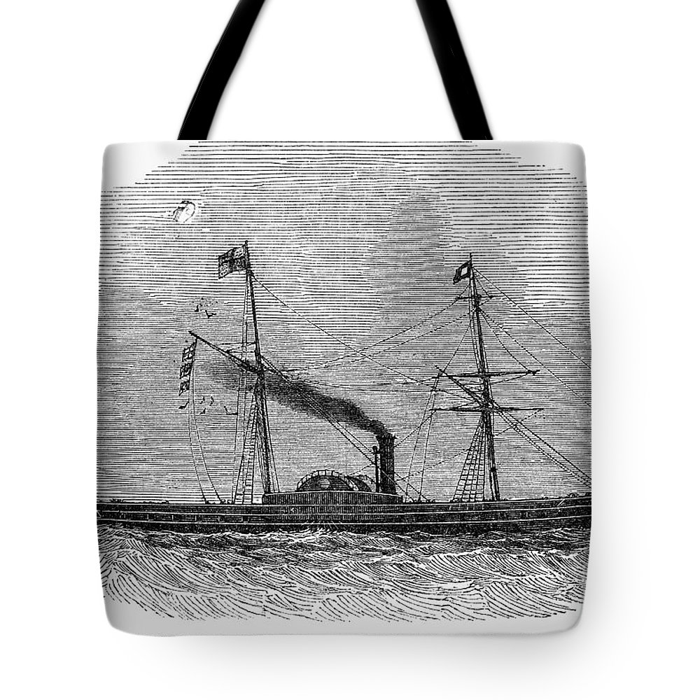 1843 Tote Bag featuring the photograph Royal Yacht, 1843 by Granger