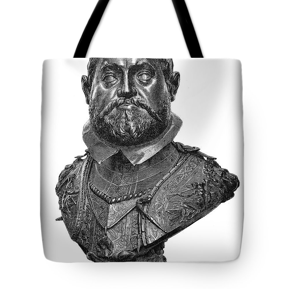 1607 Tote Bag featuring the photograph Rudolf II (1552-1612) by Granger