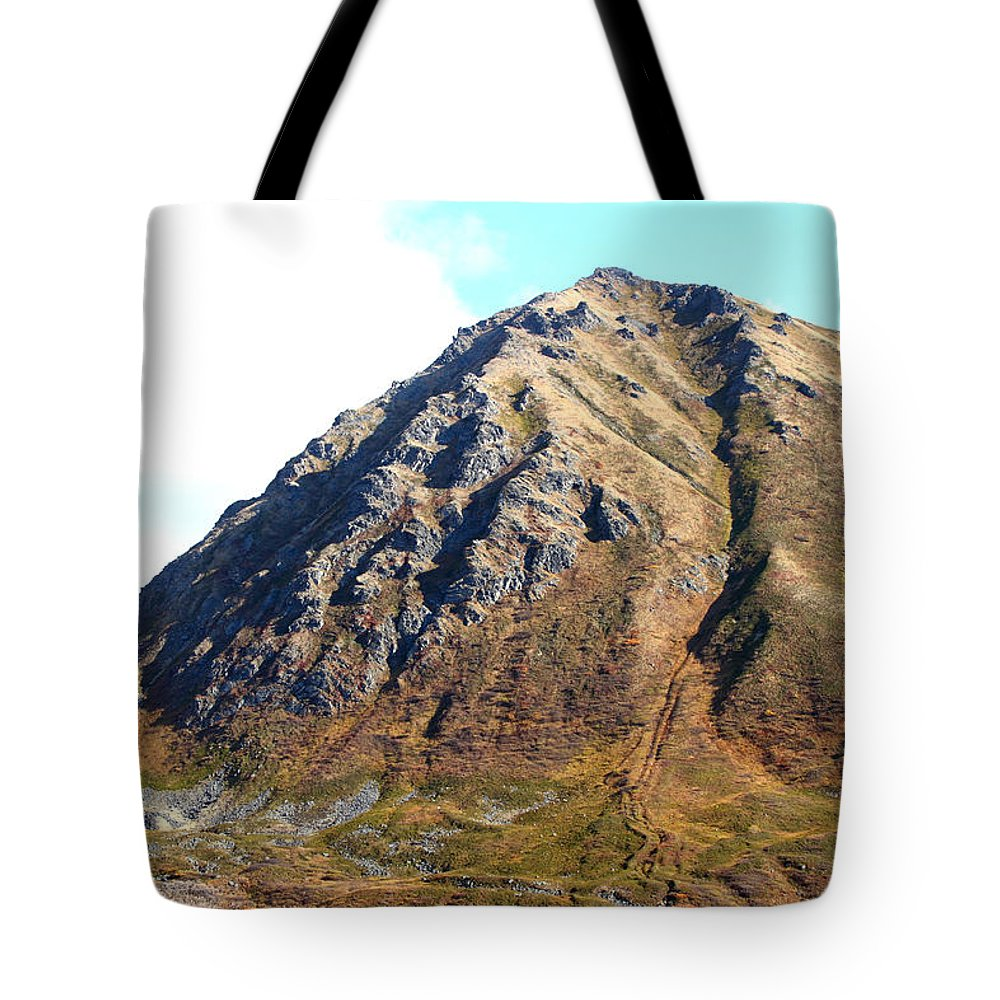 Doug Lloyd Tote Bag featuring the photograph Rugged Mountain by Doug Lloyd