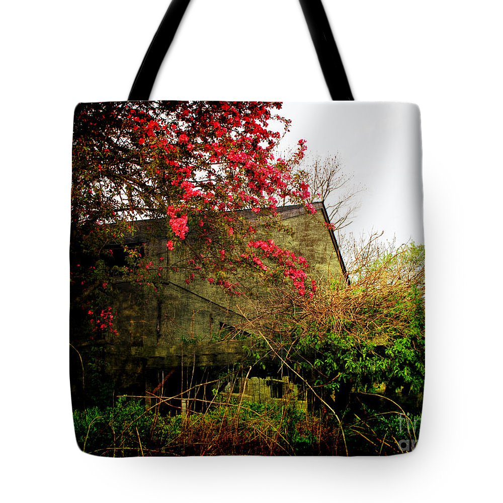 Spring Tote Bag featuring the photograph Rural America by Joan Minchak
