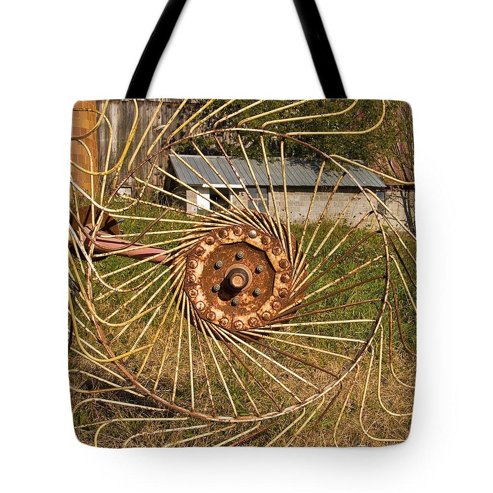 Farm Tote Bag featuring the photograph Rural Vista by Fran Gallogly