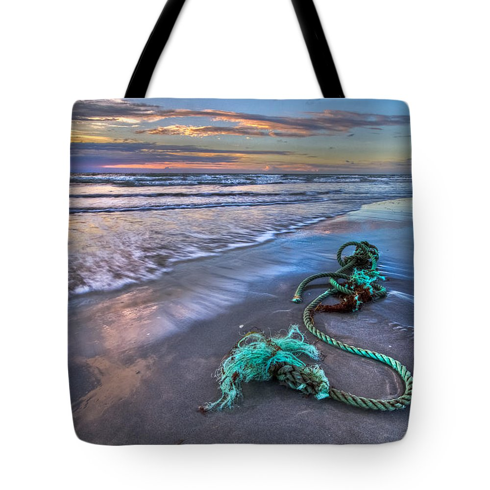 A1a Tote Bag featuring the photograph Sailor's Knot by Debra and Dave Vanderlaan